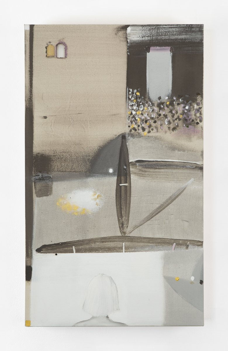 🖼️ For #artbaselOVR2020, @KerlinGallery presents a solo exhibition of works by Merlin James. Titled 'Forward,' the show furthers the pursuit of Western painting – with a fully contemporary consciousness of the disjunctures between history and culture: bit.ly/3mPEuhe