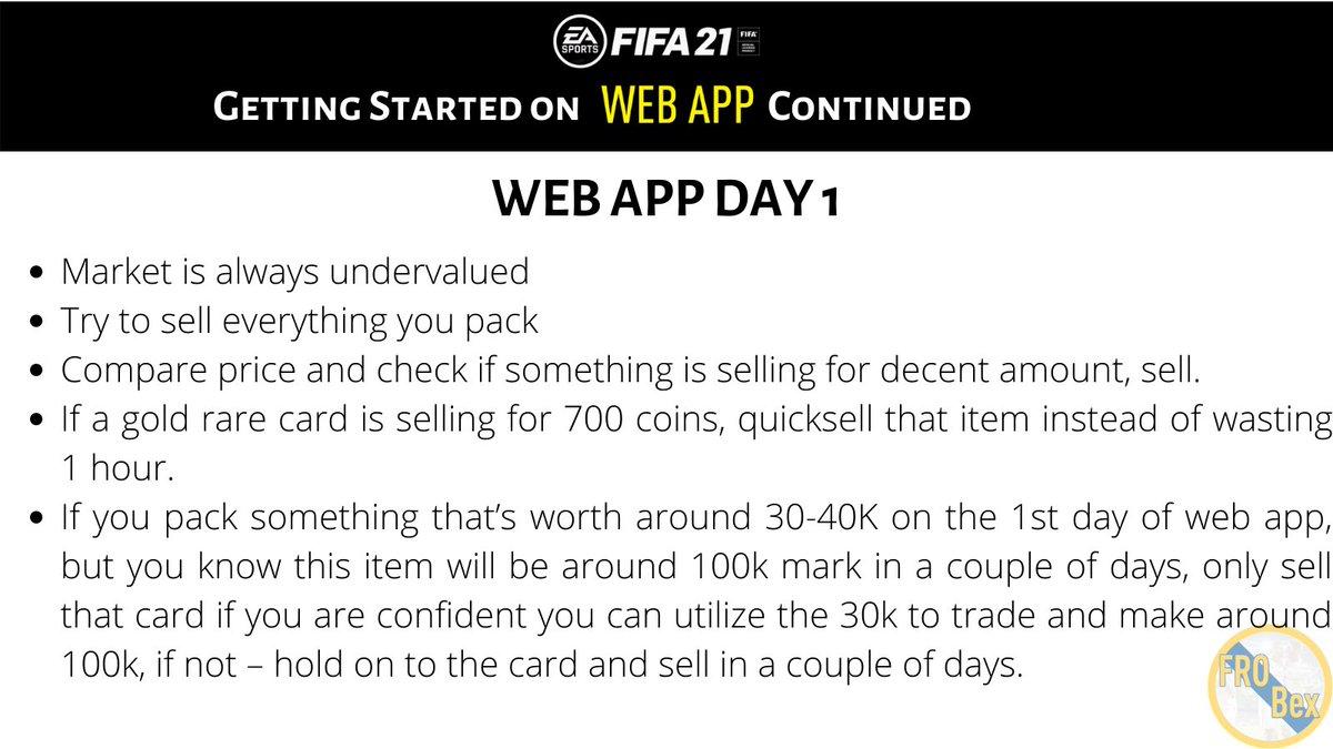 #FIFA21 #FUT21  Trading on #WebApp day 1... https://t.co/m8Ygd5VkFm
