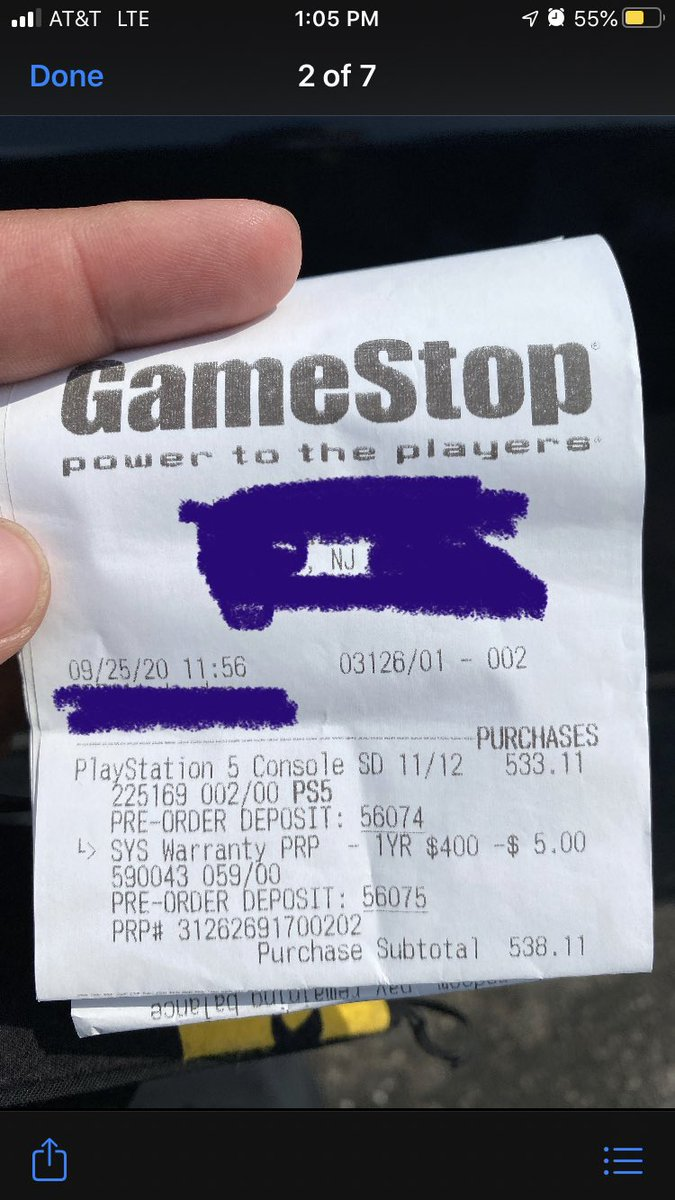 Ps5 secured. Time to get some sleep #PlayStation5 #PS5 #PS5PreOrders #GameStop #sony https://t.co/frJ42uZc9F