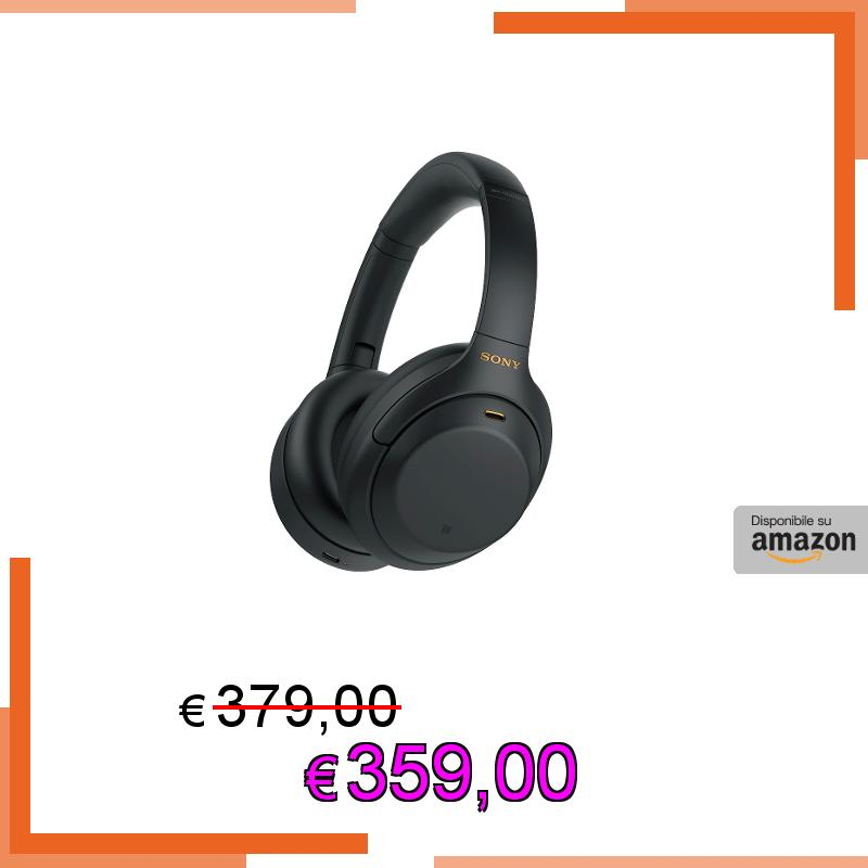 💥 Sony WH-1000XM4 - Cuffie Bluetooth Wireless con HD Noise Cancelling Evoluto, Microfono per Phone-Call, Alexa Built-in, Google Assistant e Siri e Batteria Fino a 30 ore (Nero, 2020)  ⚡️359,00€⚡️ invece di 379,00€  ➡️ https://t.co/T6co5TjpZI  #Amazon #sony #headset #cuffie https://t.co/dDTUDEvO5Y