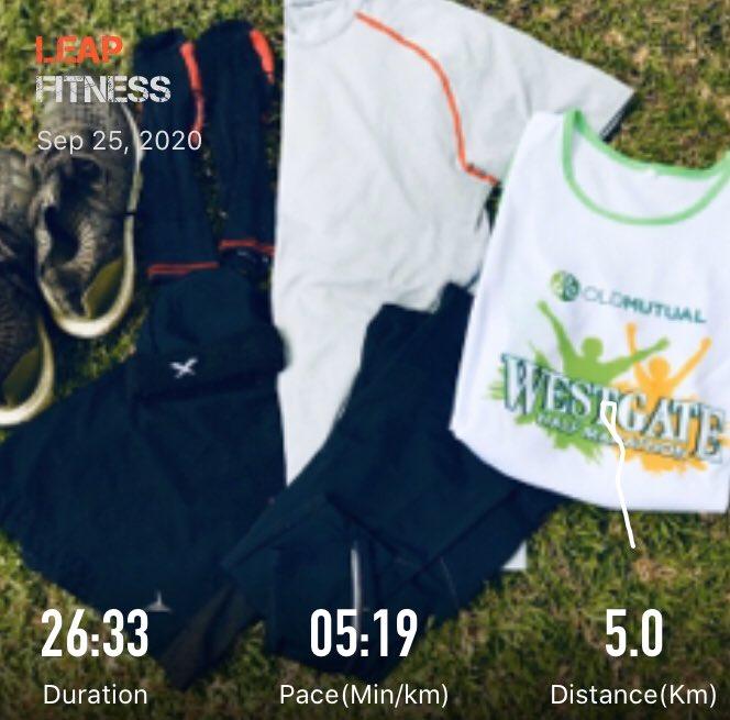 Ready for my Sunday Race . Will be running 10KM @OldMutualZW  Westgate Virtual Marathon . https://t.co/qx8HHTG4po
