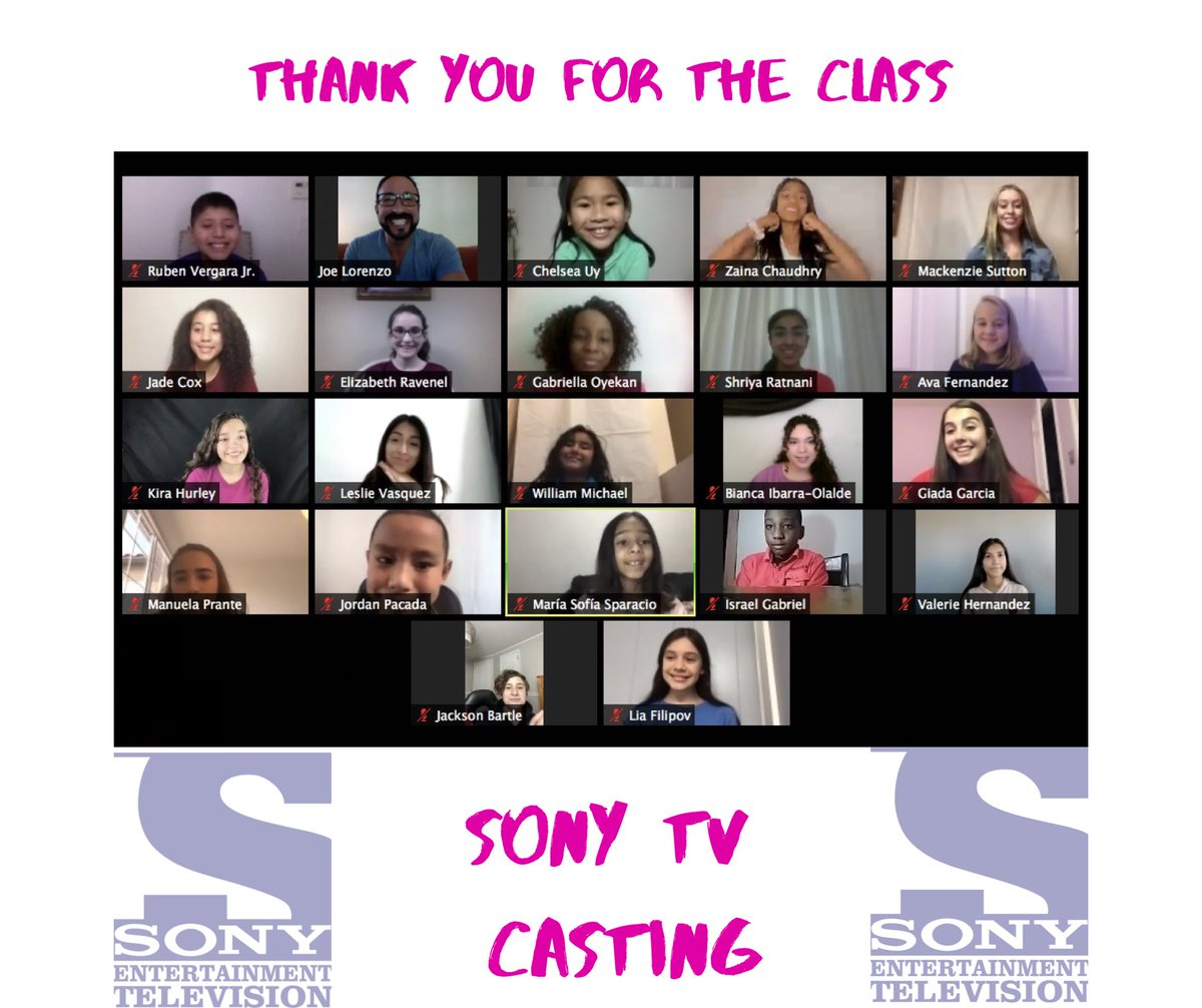 Amazing #Class yesterday  led by the awesome, kind, fabulous #CastingDirector  Amanda Richards Manager  of #Talent & #Casting @ #SONY #TV #SocietyPerformers all thank YOU... https://t.co/fBSXl48J38