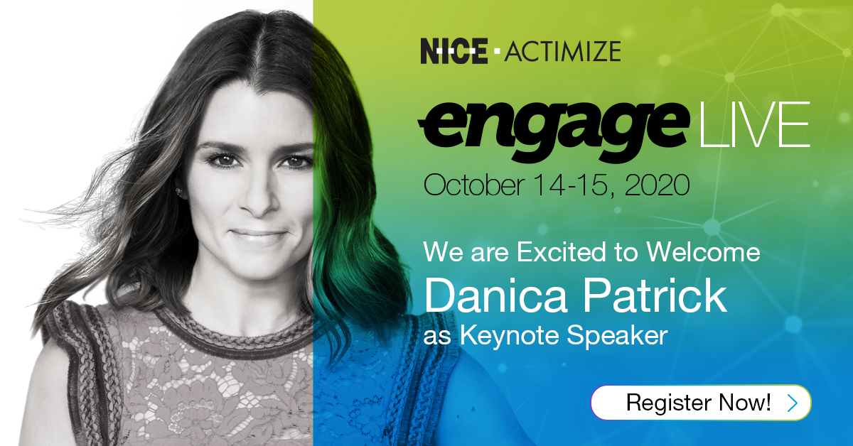 Just in – don't miss keynote speaker Danica Patrick at #ENGAGE2020LIVE! Save your spot to hear how @DanicaPatrick became a household name in professional motorsports. Register now >> https://t.co/rg45EabId1 #womenwholead #VirtualEvent https://t.co/dBNHWnGOOz