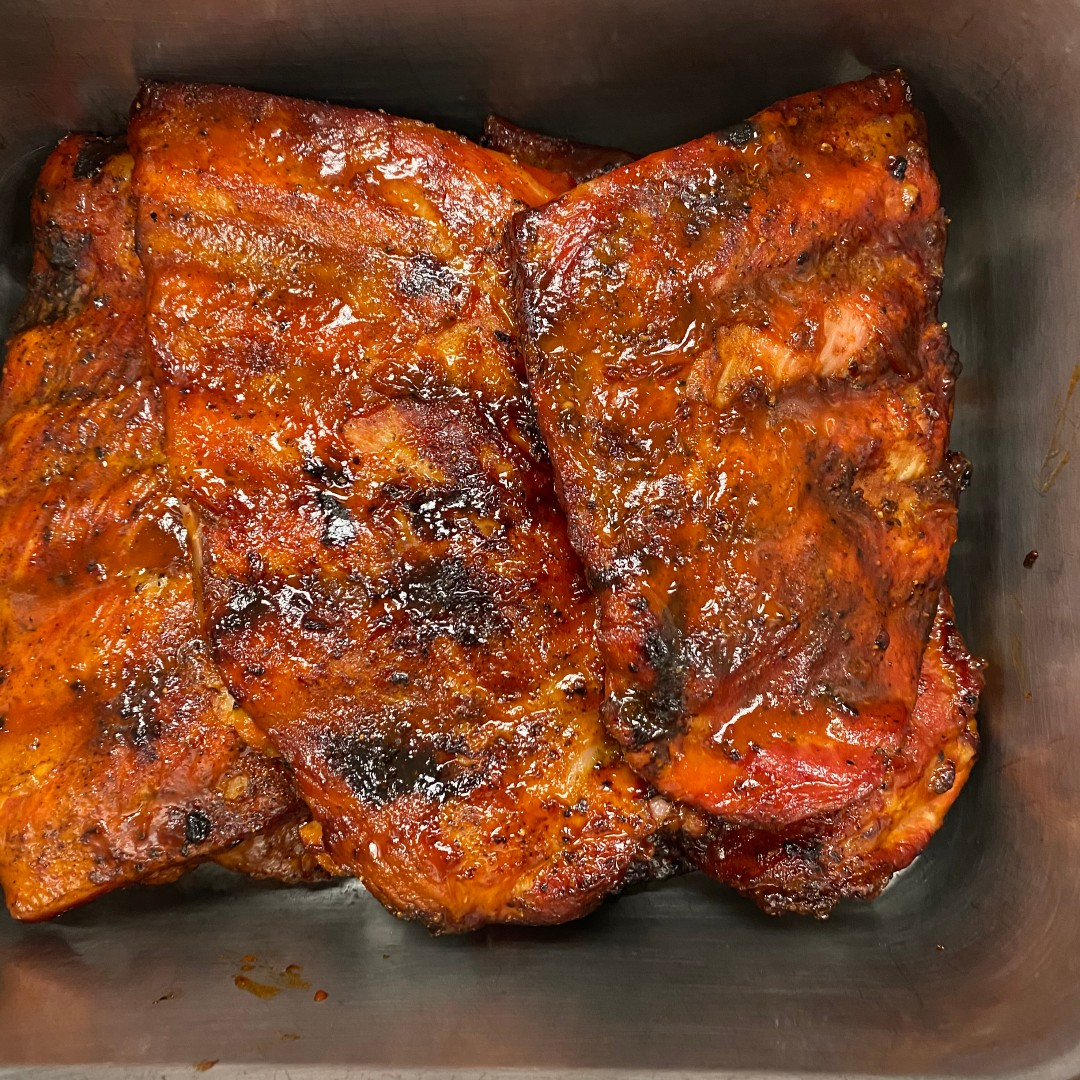 Have you tried our RIBS? Stop by any of our locations on Fridays-Sundays and get ya some!  #yum #porkribs #mooresbbq https://t.co/fIa590Vk7H