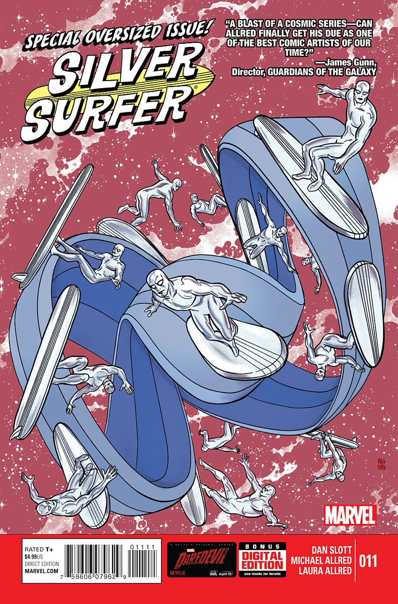 @briansolis @DanSlott and @AllredMD created an entire issue of Silver Surfer that a moebius strip  https://t.co/K4osqdQXOu https://t.co/F2myi1l2wY