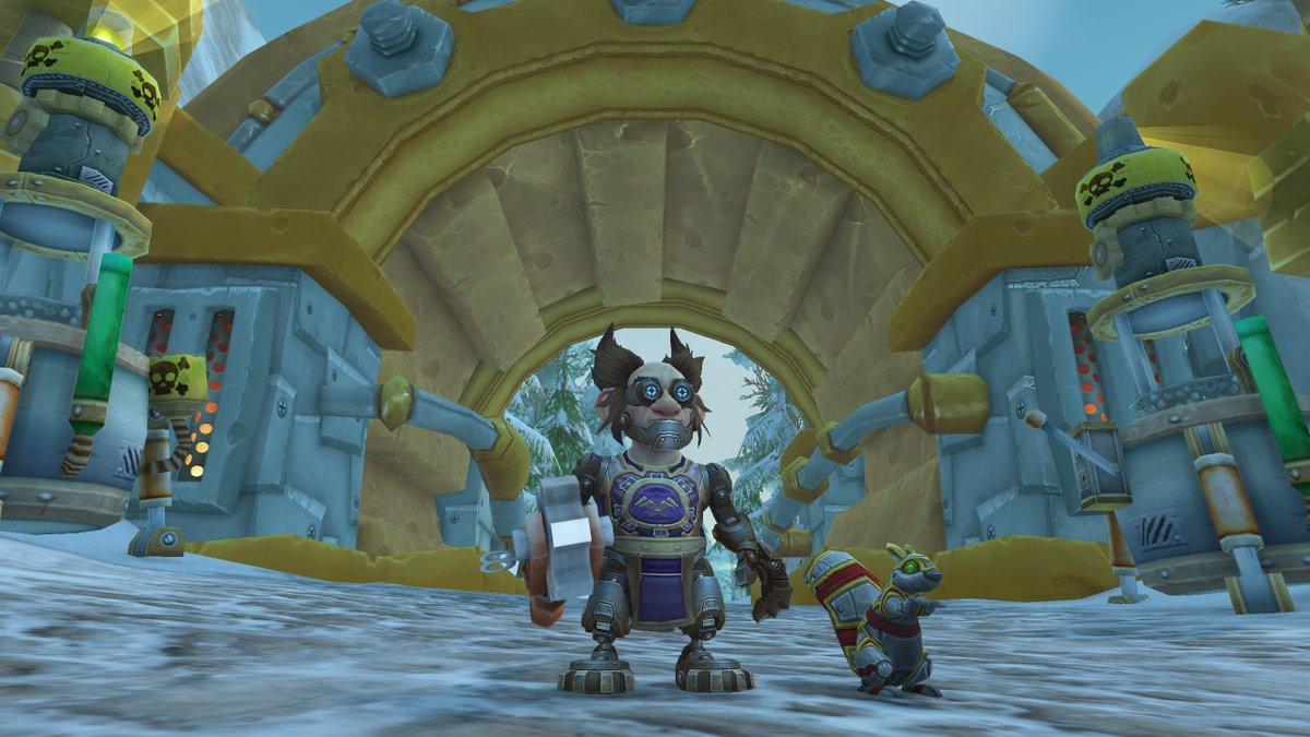 Galvatron and his companion Rustynuts are ready to take on the world. #FriendsFriday #Mechagnome #Warrior #PopoZao #Warcraft https://t.co/aAlziF0iqG