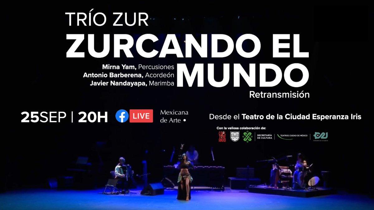 Tenemos una cita para surcar la música mexicana —del virreinato al son— desde el Teatro de la Ciudad Esperanza Iris.  ¡Acompáñanos vía #FacebookLive! https://t.co/nMSlt3w5B9