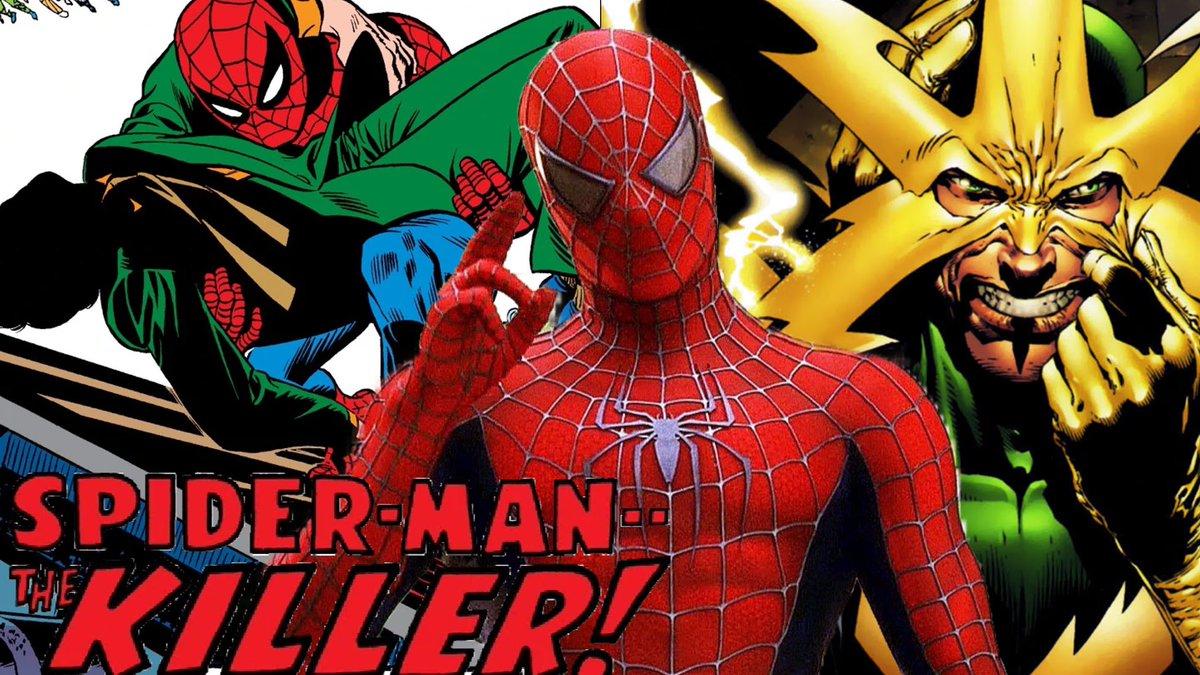 NUEVO VIDEO: Hablemos de la historia original y guiones descartados de la trilogía de #SpiderMan de #SamRaimi.    https://t.co/0covDSstRs https://t.co/fPRT5xWVfL