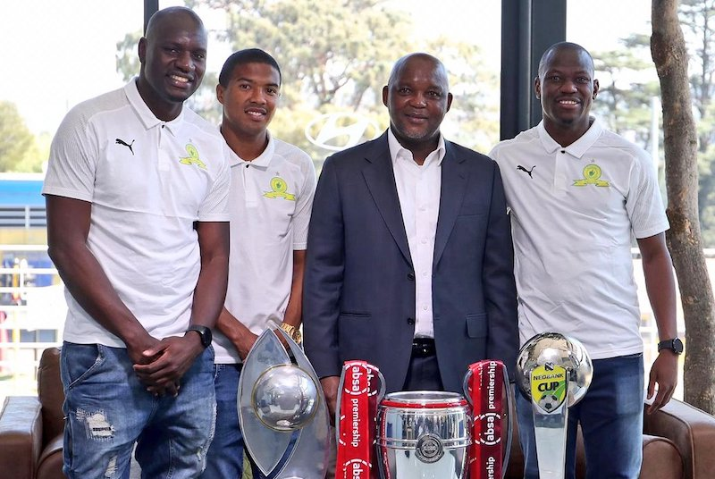 Case closed 🗃️  Mamelodi Sundowns fans can continue their 2019/20 treble celebrations in peace after Bloem Celtic's protest against Tebogo Langerman was thrown out.  Full story ➡️ https://t.co/5XlypYWlLz #NedbankCup2020 https://t.co/DcAXnJ0KeH