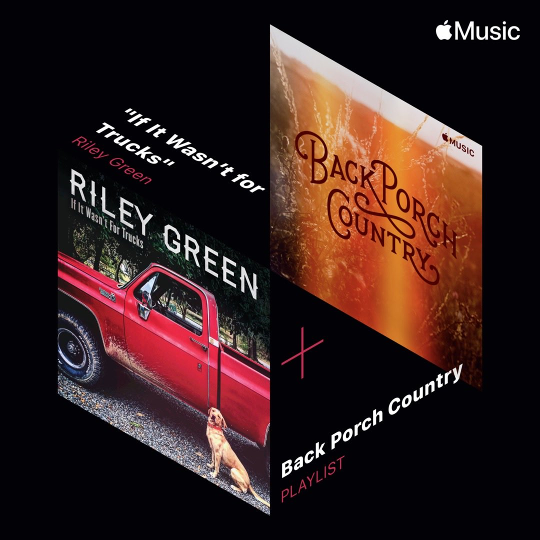 Thanks @AppleMusic.  #backporchcountry #ifitwasntfortrucks