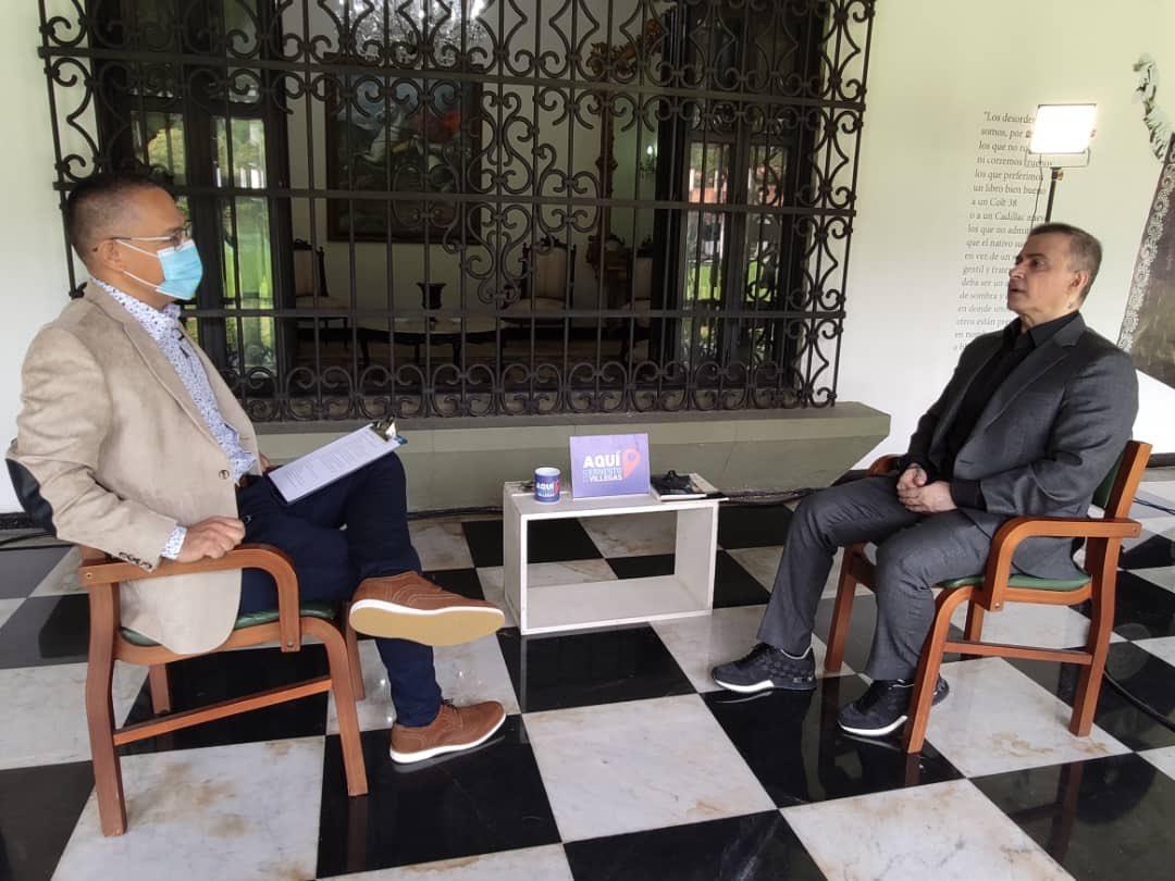 Este domingo #27Sep no te pierdas mi entrevista al Fiscal General de la República, @TarekWiliamSaab, en #AquiConErnestoVillegas. A las 10AM por mis cuentas en #Twitter e #Instagram, mi página #Facebook y mi canal #YouTube Ernesto Villegas Poljak #Venezuela #FelizViernes #25SEP
