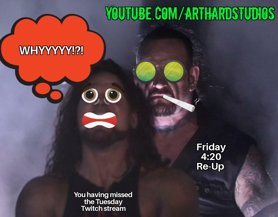 Missed the WeeDnD sesh this week? Catch the reup at 4:20pm pst every Friday at https://t.co/7kYYE9rYJM   #dnd #ttrpg #dnd5e #actualplay #dungeonsanddragons #reup #weednd #CannabisCommunity #cannabisculture #weed #WeedLover #FridayVibes #sesh #Subscribetomychannel @mattcolville https://t.co/O0q9kyXp58