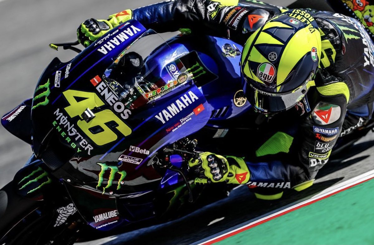 Valentino Rossi On Twitter Circuit De Catalunya Barcelona Spain Friday Free Practice Falex79 Tino Martino