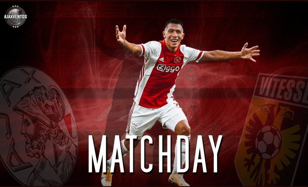 M A T C H D A Y ! AJAX - Vitesse ❌❌❌ De wedstrijd in de Johan Cruijff Arena begint om 21.00 uur  #AJAVIT #Ventos #AFCAjax #WijZijnAjax https://t.co/5ZRoTmpbKD