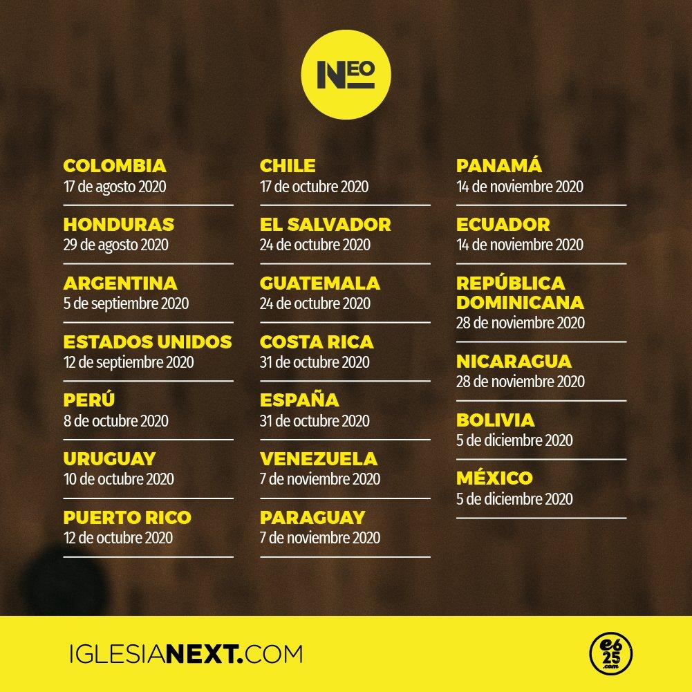 Las próx 3 sedes de #iNEO son: #Perú con @e625Peru  #Uruguay con @e625Uruguay  y #PuertoRico con @e625puertorico   Sé parte de una convocatoria única de entrenamiento en serio a para equipo interactuando en un formato inédito. https://t.co/9KMWDjHzsr Te va a 🤯 https://t.co/6JvFFQBYgG