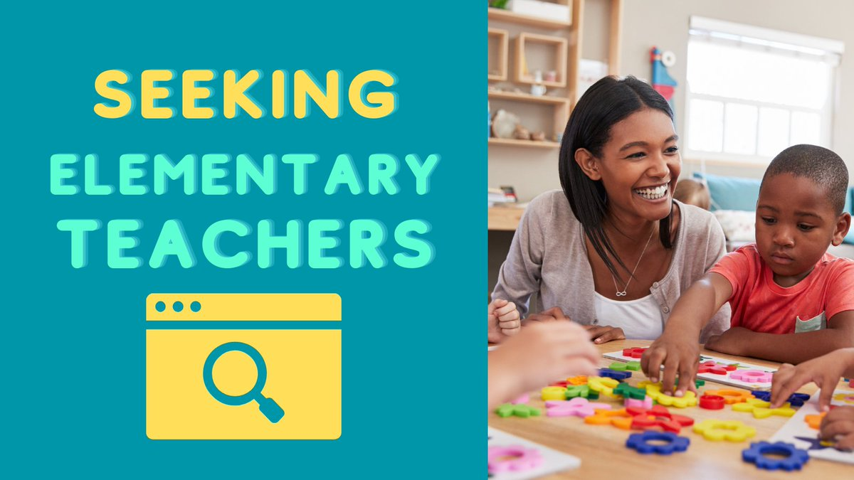 We have schools in #Boston, #NYC, #DC, #LosAngeles, #SanFrancisco, #Pennsylvania, and #NewJersey actively looking for experienced #elementary teachers.  Job seekers can learn about qualifications and apply at https://t.co/cays2UdzKc #echat #isedchat #elemchat #educhat https://t.co/D2uFj3aU4Q