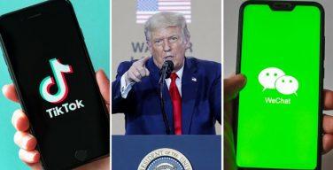 #EEUU prohíbe #Descargar las apps chinas #TikTok y #WeChat - #TikTok es una aplicación para compartir videos. Los usuarios pueden publicar hasta un minuto de video y tener acceso a una enorme base ... - https://t.co/Eq8tO0JBiz  #AplicacionesChinas #Prohibición #Tecnología https://t.co/jGJ8XNjaES