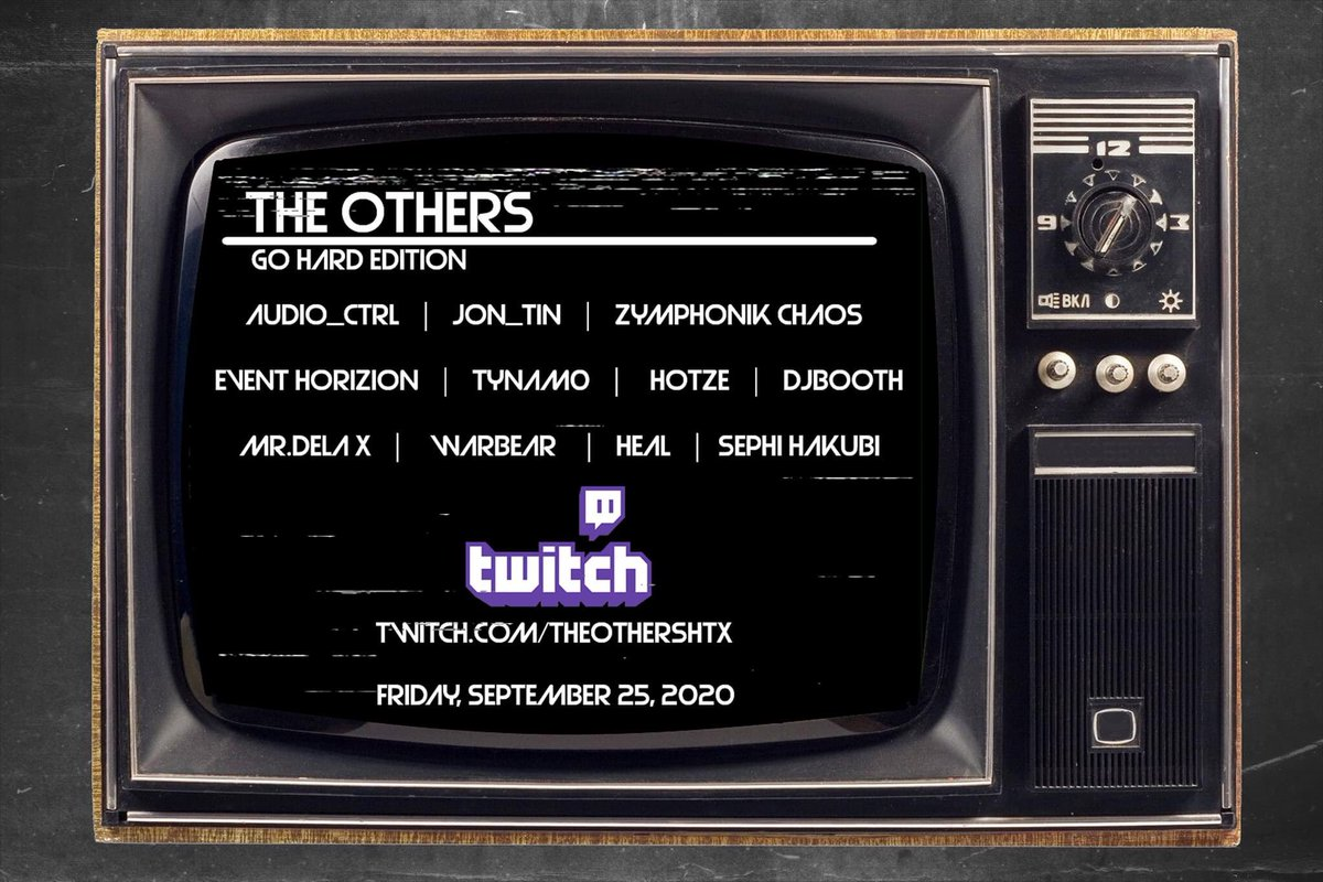 The Others: GO HARD Edition is happening right now. Catch me tonight on https://t.co/637TYLkX7Q at 10PM Central as I bring the #HandsUp #HardDance tonight! https://t.co/AfHHNurYrH