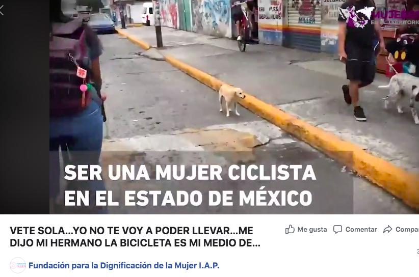 VETE SOLA…YO NO TE VOY A PODER LLEVAR…ME DIJO MI HERMANO  LA #BICICLETA ES MI MEDIO DE TRANSPORTE... ME DICEN DE COSAS…ME #ACOSAN  Este video obtuvo el primer lugar de #MujeresEnElTerritorio  VER VIDEO EN: https://t.co/8pi7gshUJU https://t.co/Mu3IIi5UkL