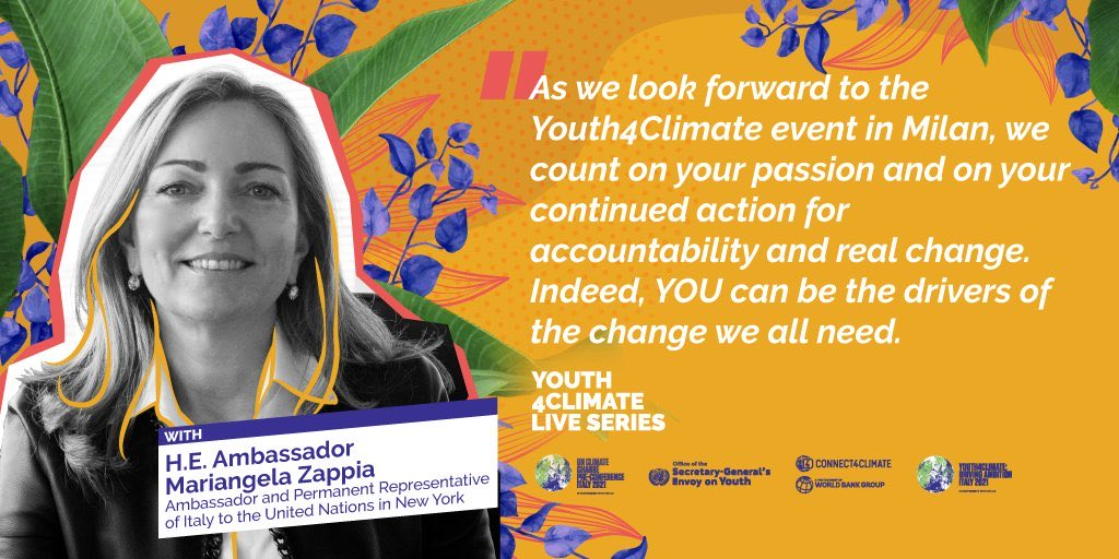 Youth is a state of mind!#Youth4Climate https://t.co/PcnBqtGNyv