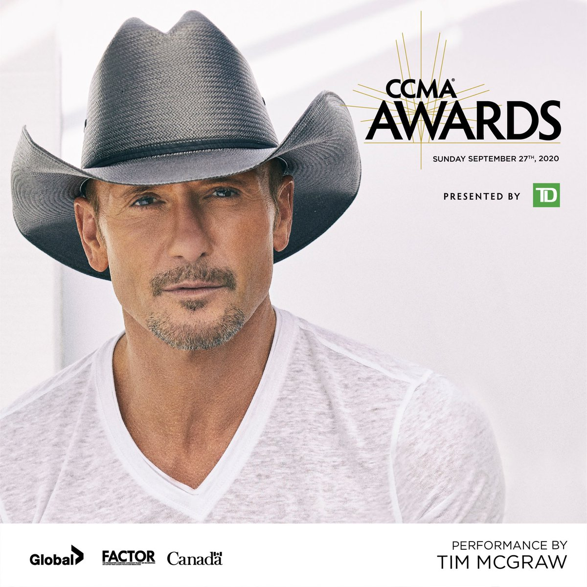 Excited to be a part of the #2020CCMAAwards this Sunday at 9pm ET!Tune in on @GlobalTV's website, App or YouTube page.@CCMAofficial https://t.co/ezzzcHpjrd