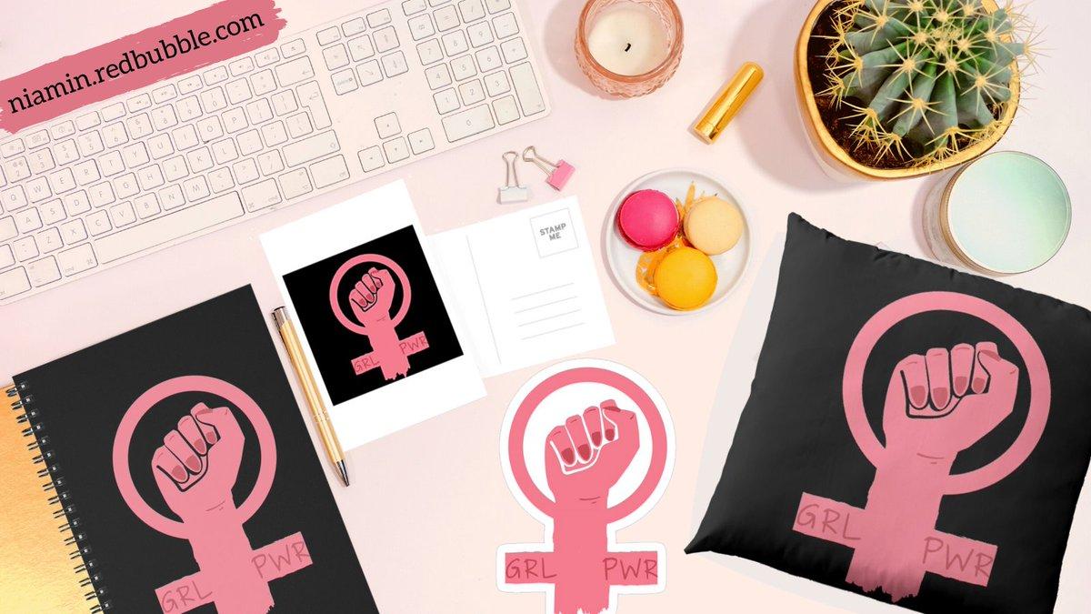 A little play on the ♀️ for women empowerment Link:   #redbubble #Stickers #sticker #BackToSchool #BackToSchool2020 #kawai #cute #supportwomenrunbusinesses #supportsmallbusiness #SupportSmallBusinesses #pillow #decor #Pink #postcards #aesthetics