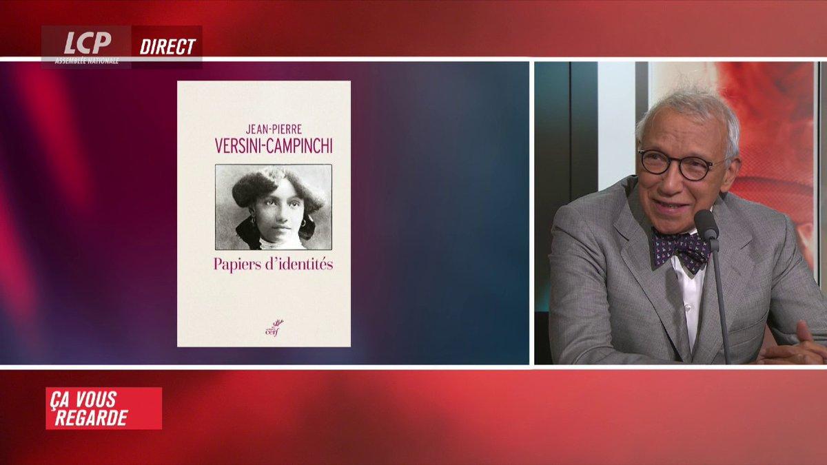 """""""Papiers d'identités"""", c'est le titre du dernier ouvrage de l'avocat Jean-Pierre Versini-Campinchi, paru aux éditions du Cerf. #CVR https://t.co/OxA1wZUY7d"""