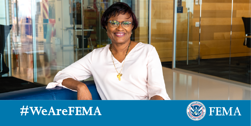 Meet Dale! She's the Director of Grants Management in our @femaregion2 office. Her team supports our state, local, tribal and territorial partners to manage awards to reduce disaster risks. She finds it particularly rewarding to see how these funds help transform communities. /1