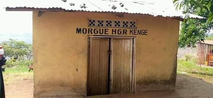 """#RDC: Voici la morgue de l'hôpital général de référence de Kenge chef lieu de la province du Kwango .  Photo : Ginette Maria Nzosa.   """" https://t.co/9IbNNchtaj"""