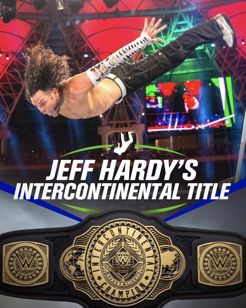 Be a champion like @JEFFHARDYBRAND and get your Intercontinental Championship Replica Title right now at #WWEShop! #WWE  https://t.co/w49mjNRolI https://t.co/LWuk6lscRn