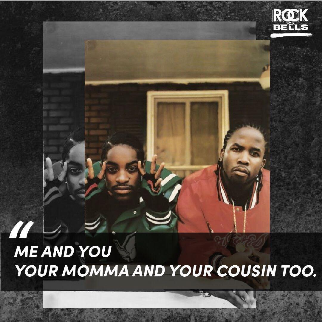 """I heard its not where youre from but where you pay rent. Then I heard its not what you make but how much you spent."""" - @Outkast #RTBTimlesslyrics"""