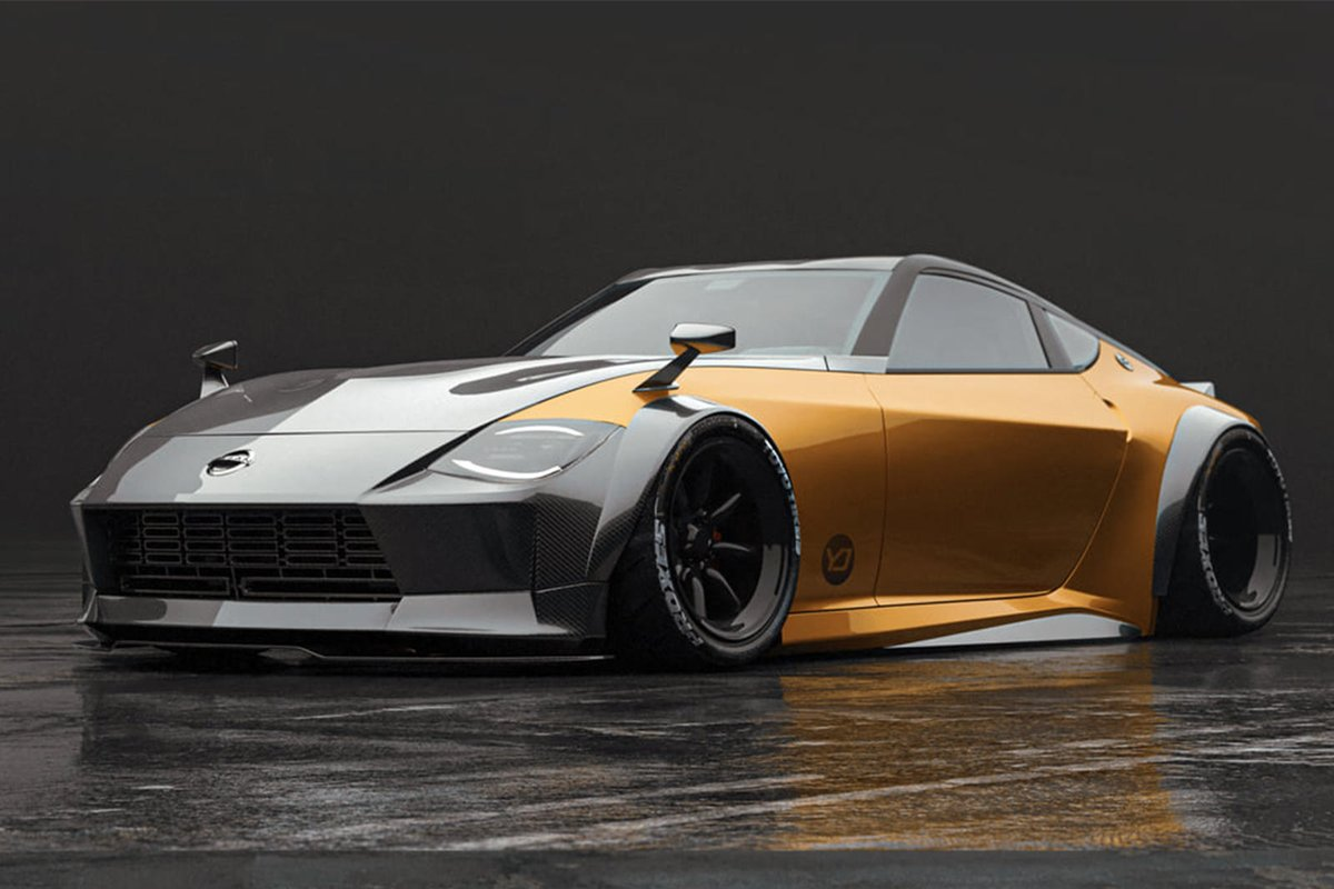 The @Nissan 400Z Has A Chance To Look Sensational. Two render artists give the latest Z car a lot more attitude. #design #sportscars Read: https://t.co/Y4F8GrGz8m https://t.co/TJbsZQpuXG