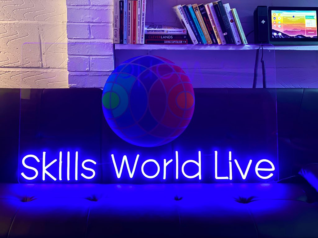📺 Look out for more #SkillsWorldLive Productions coming soon — starting with https://t.co/Ue3GoVVAZv Early bird tickets 🎫 now available https://t.co/7a4aJA2D9S