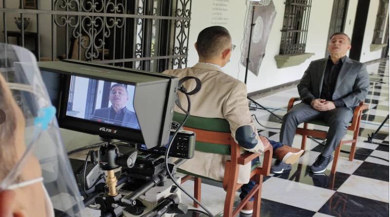 """No se pierda este domingo entrevista al Fiscal General Tarek William Saab en programa """"Aquí con Ernesto"""" #VenezuelaGarantíaDeDDHH vtv.gob.ve/entrevista-tar…"""