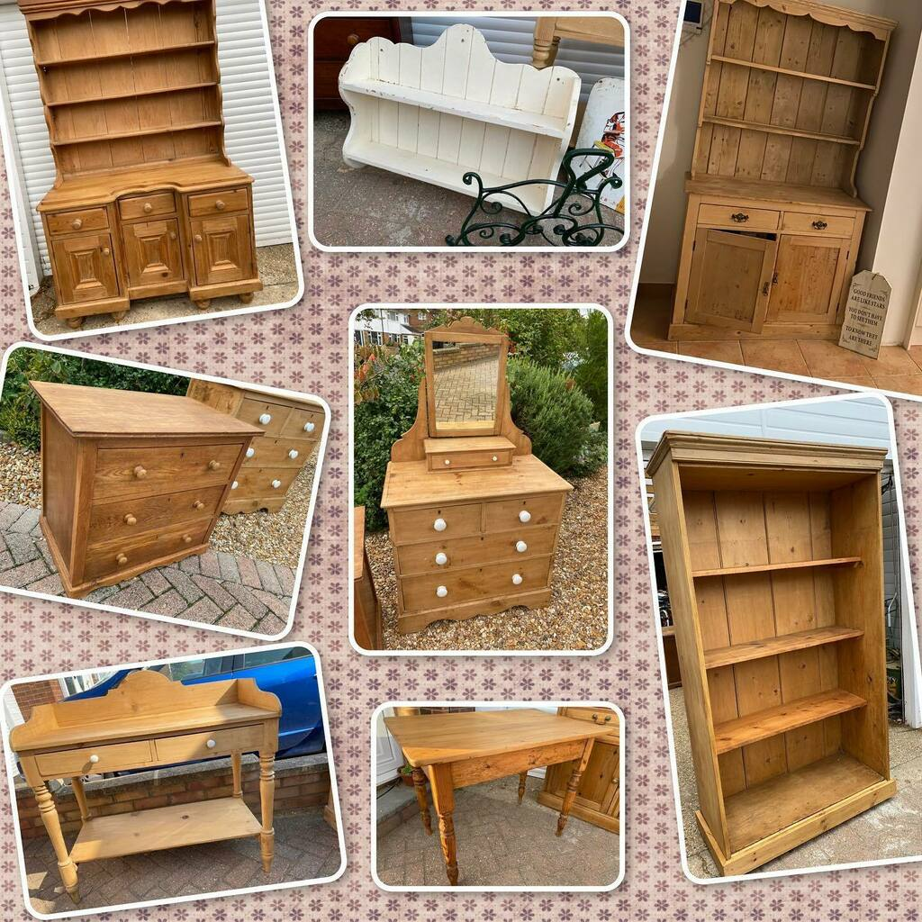 All available now, and I have some great items coming in over the next few days!   #antiquepine #furniture #home #decor #interiors #antique #vintage #pine #bookcase #table #shelf #chestofdrawers #dresser #farmhouse #rustic #countryfurniture #restoration … https://t.co/kSQh4NySE0 https://t.co/fHqpKYcFVZ
