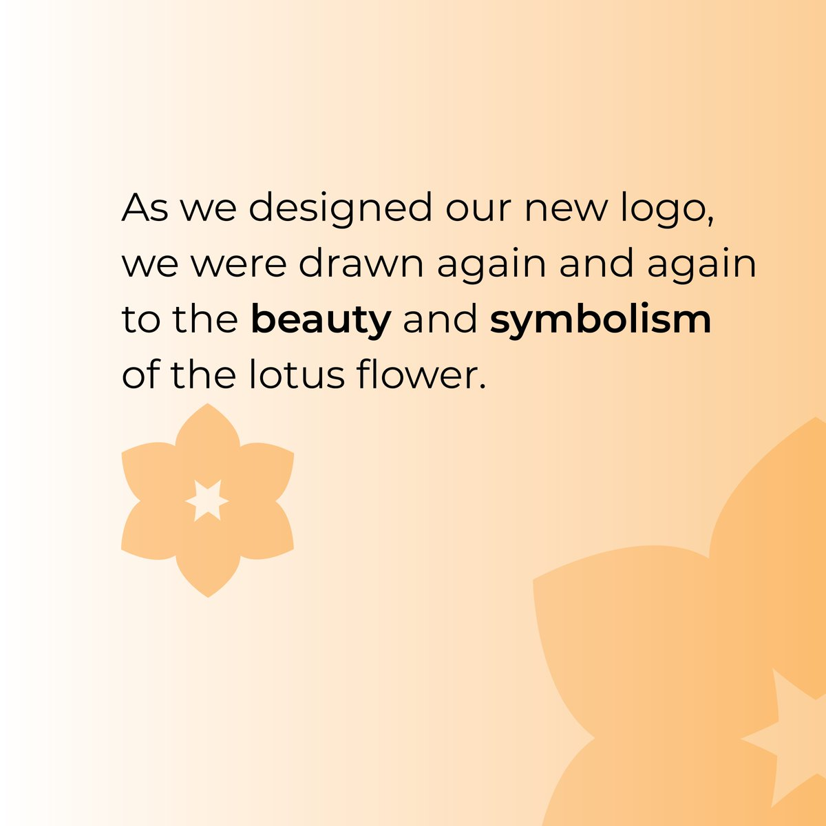As we designed our new logo, we were drawn again and again to the beauty and symbolism of the #lotus. This flower grows in muddy, swampy water with little sunlight and yet somehow still manages to become a magnificent and beautiful blossom. https://t.co/mMfefSHm8d