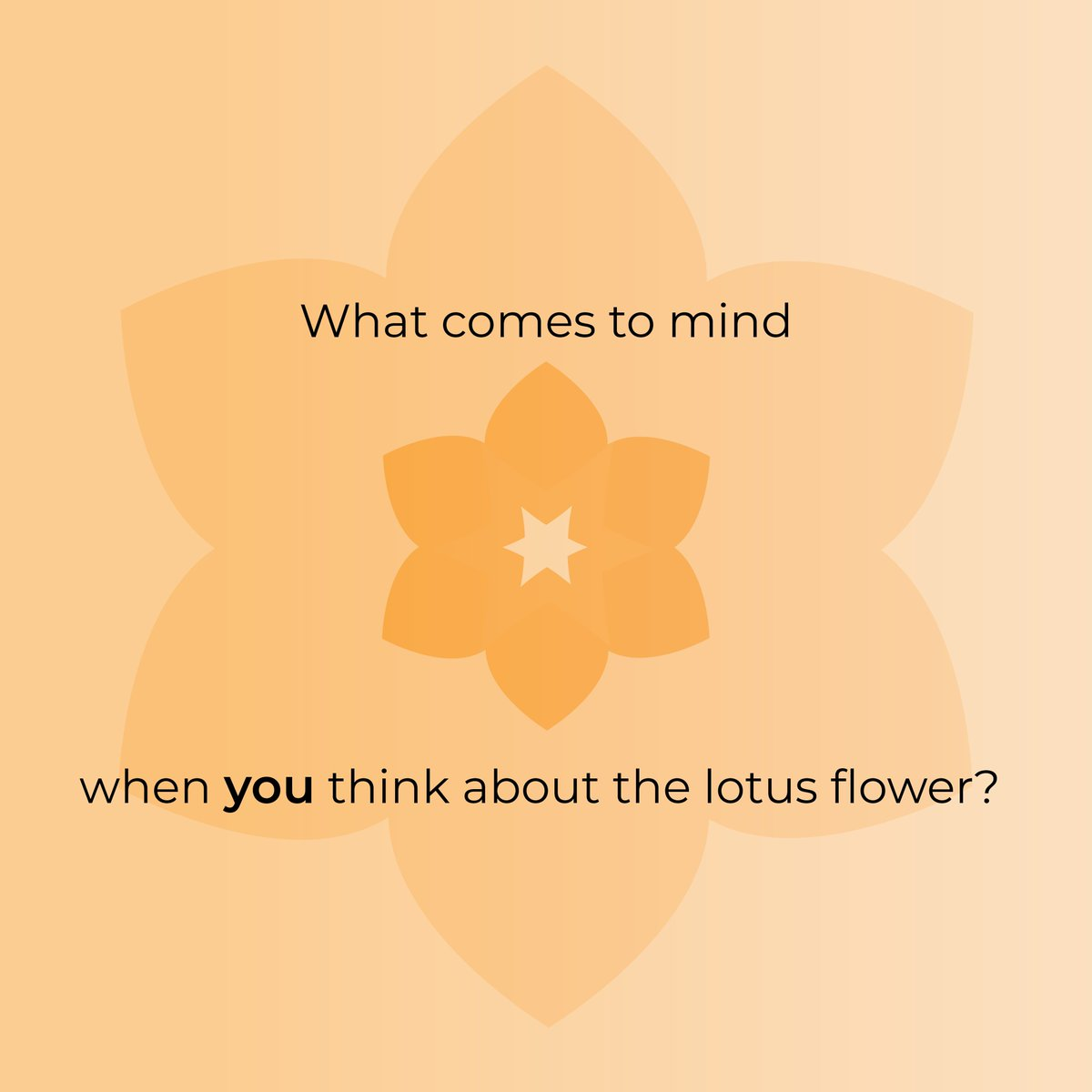 What comes to mind when you think about the #lotus flower? https://t.co/O5LZiorHaN