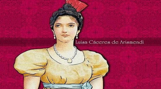 🗓️ #25Sep    Tal día como hoy en 1799 nace en Caracas, Luisa Caceres Díaz de Arismendi, una heroína y procer de nuestra independencia, quien dedicó su vida al servicio de la Patria y a la liberación de Venezuela de manos de los españoles. #VenezuelaGarantíaDeDDHH #FANB https://t.co/Iw1w7XPRfR