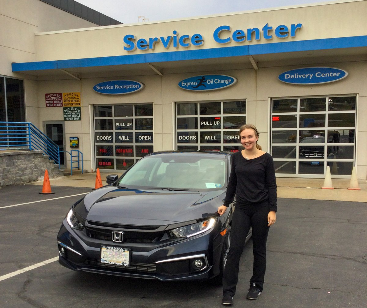 Congrats to Katlyn on your new #HondaCivic! Welcome to the #MiddletownHonda family!  Is it time for your next ride? https://t.co/oJKmDupH2P