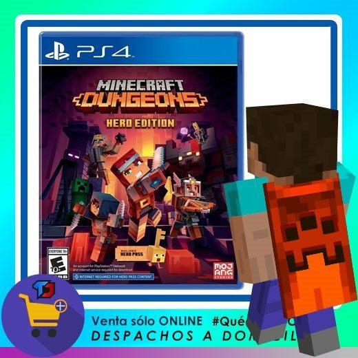 Minecraft Dungeons Hero Edition Para PLAYSTATION 4 $ 29.900 Despacho a Domicilio Santiago y Regiones Comprar aca… https://t.co/aWqQy1roRW https://t.co/MS4iXAKapr