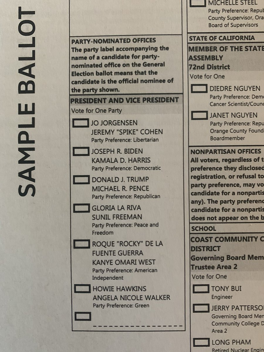 Where, the FUCK!? Is @AndrewYang on the CA General Election Ballot #2020 #YangGang #Yang2020 #StillVotingYang And for any bleeding hearts out there, CA is already decided for Biden. So save your breath/thumbs. https://t.co/D0ydzzoMSn
