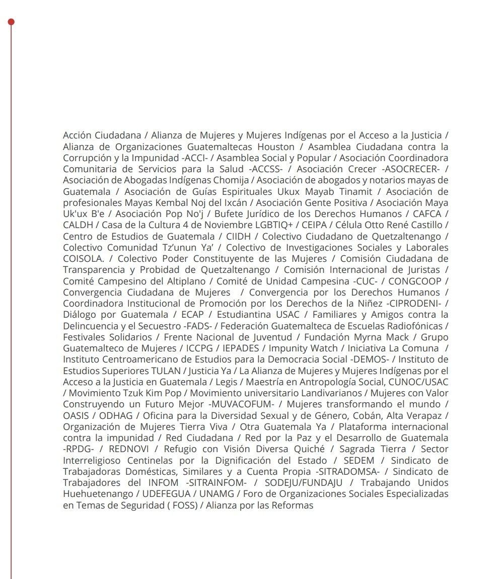test Twitter Media - 79 organizaciones sociales emiten comunicado por las acciones de la Fiscal General, María Consuelo Porras, que consideran buscan debilitar a la FECI. https://t.co/xbjqjvSxY3