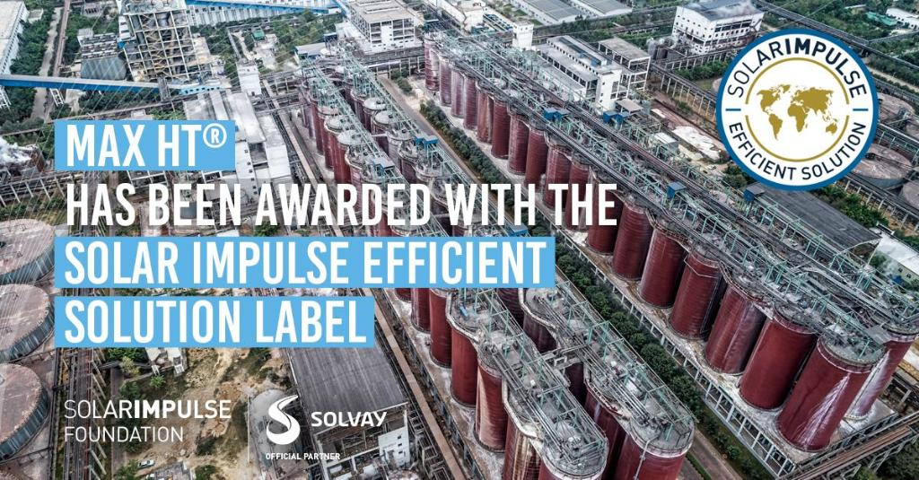 Solvay has developed MAX HT®, a #sustainable technology that eliminates scale directly at the source and reduces energy and fresh water consumption and related costs within the #alumina industry. #1000solutions 🔎 📰 https://t.co/j5KiR1ddOB https://t.co/rzCATm8A85