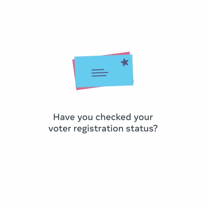 The US 2020 election is fast approaching. The first step in getting ready to vote is making sure you are registered. For official information from election authorities, visit the Voting Information Center on Facebook,