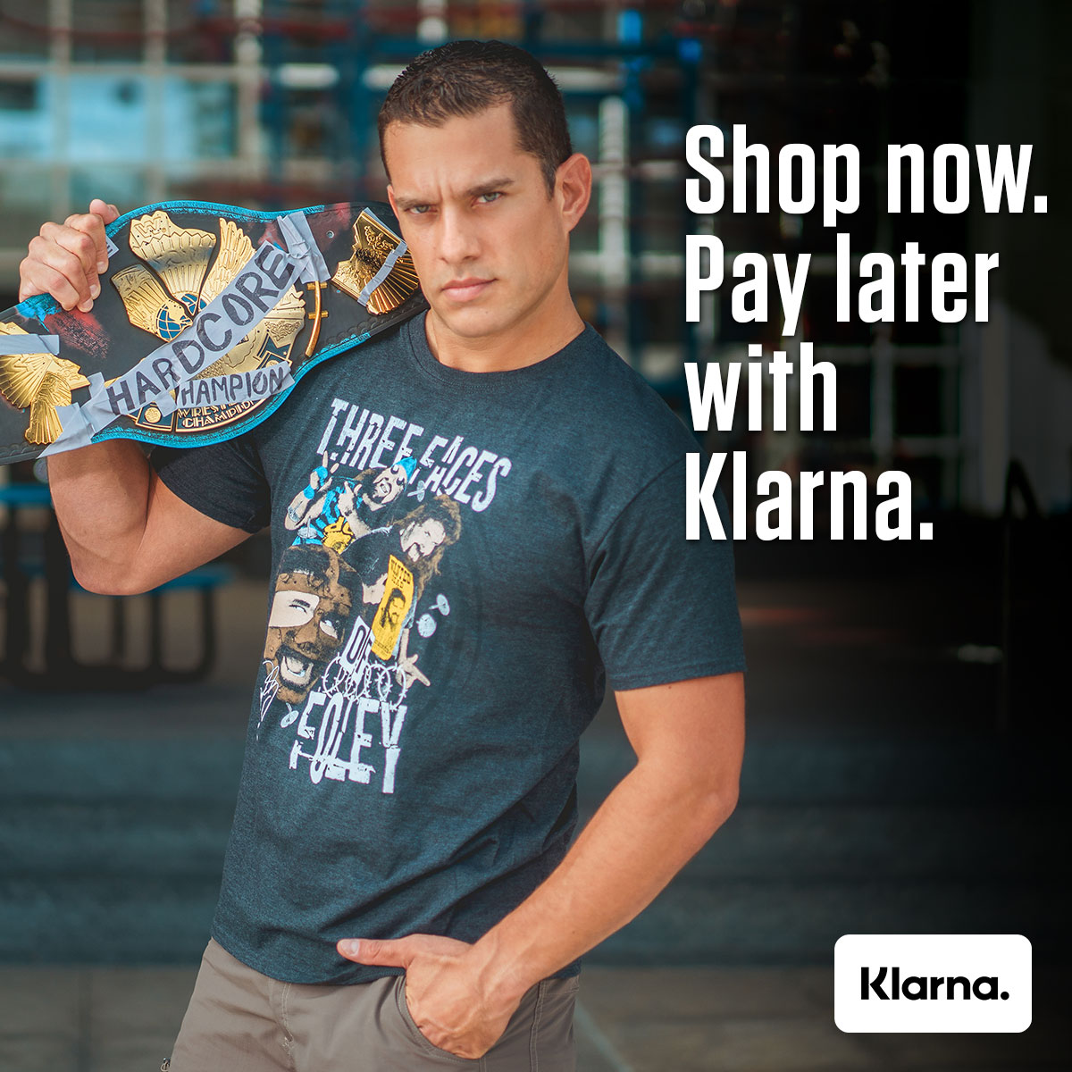#WWELegendsShop and #Klarna - a championship team! We've teamed up with @Klarna to offer the smoothest payment options at checkout! Select Klarna at checkout to split your purchase into 4 equal installments. No added interest or fees when you pay on time!  https://t.co/pkLyiUUnaj https://t.co/GL1HDrSuOo