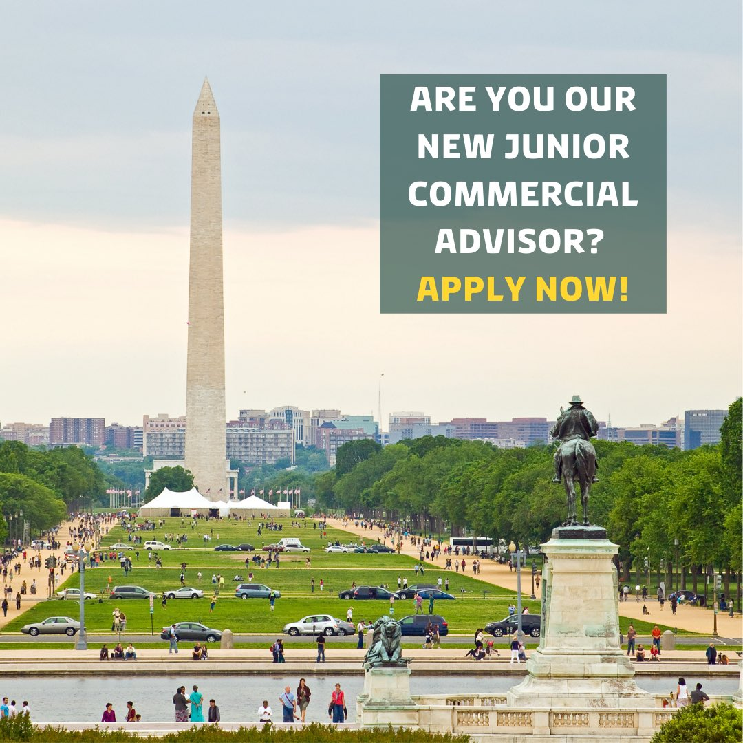 Are you looking for an international career and are you excited about #sustainable solutions for the #food & #agricultural sector? Then you might be our future Junior Commercial Advisor at #DenmarkinUSA 🇩🇰🇺🇸  Apply before October 12, 2020 👉 https://t.co/SpRuinF7xi. https://t.co/5WGwhb3RE9