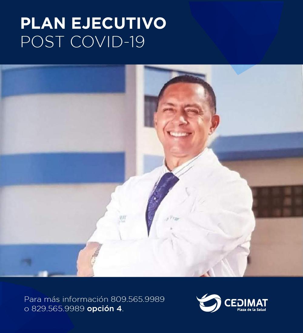 El Plan Ejecutivo Post COVID-19, un novedoso programa de salud que busca dar seguimiento a estos pacientes que han padecido este virus.  Conoce más sobre este nuevo servicio https://t.co/FchvzBE4X7   #CEDIMAT #Salud #Covid19 #coronavirusRD #PostCovid #planEjecutivo #Secuelas https://t.co/XA1qc29256