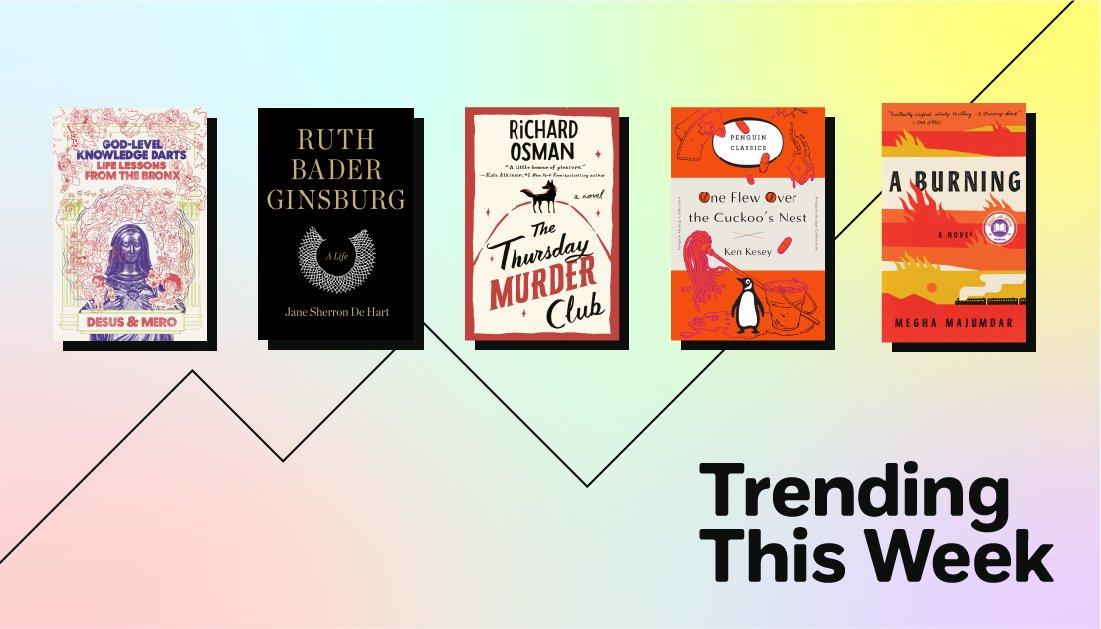 Check out the books everyone's talking about this week: https://t.co/Om48x7zMgD @MeghaMaj  @richardosman @desusnice @THEKIDMERO https://t.co/5T0rSihwZ5