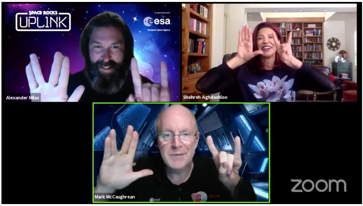 Uplink 24 saw an unforgettable exchange of ideas on acting, politics, the qualities of great leaders and so much more with the excellent @SAghdashloo, star of one of our favourite shows, @ExpanseOnPrime - Avasarala ftw! #theexpanse #spacerocks  https://t.co/h9PFYlRW0q https://t.co/jMSj1UBjBt