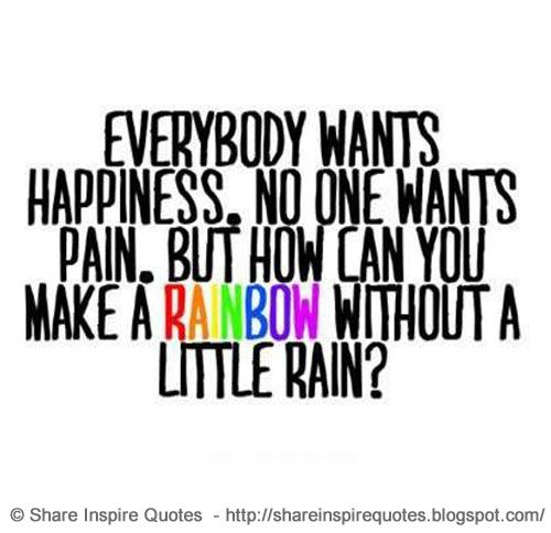 Everyone Wants Happiness, No One Wants Pain, But You Can't make a Rainbow, Without a Little Rain.  YouTube Link - https://t.co/jhdvHXaeY5  #videoquotes #videos #youtube #youtubevideos #facebook #facebookvideos #instagram #mondaymotivation #motivational #motivationalquotes https://t.co/y2Y4siXywI
